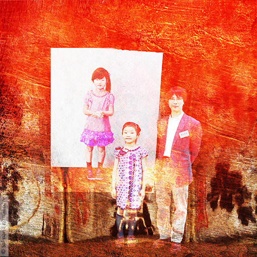 Yoshiaki Kanda en zijn Dochter