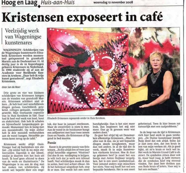 Elisabeth Kristensen nov 08